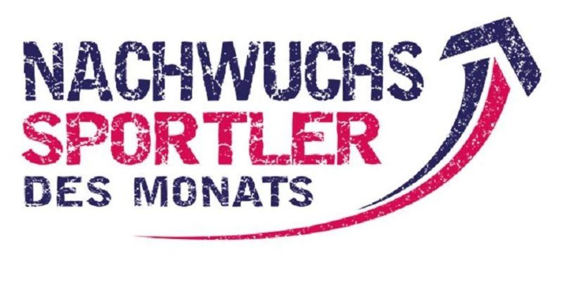 Logo Nachwuchssportler des Monats