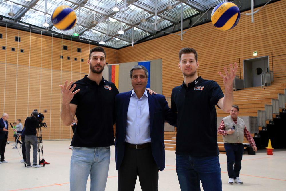 HKS-Rückgabe Volleys