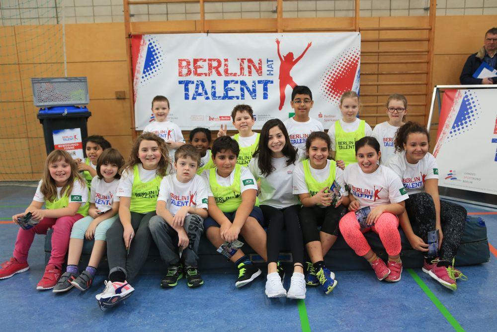 Yusra Mardini bei BERLIN HAT TALENT