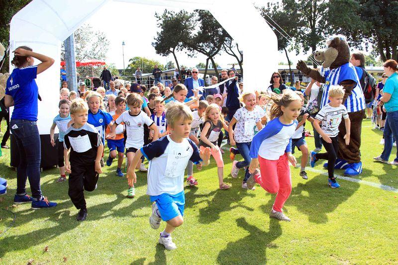 SCC-Kinderlauf beim Familiensportfest