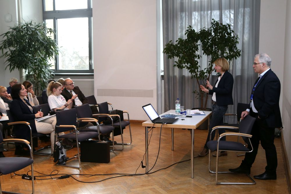 "Praxisforum ""Berlin hat Talent"" mit Professor Jochen Zinner"