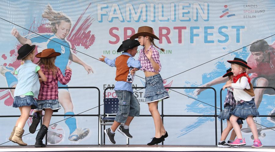 Familiensportfest im Olympiapark Berlin am 3. September 2017