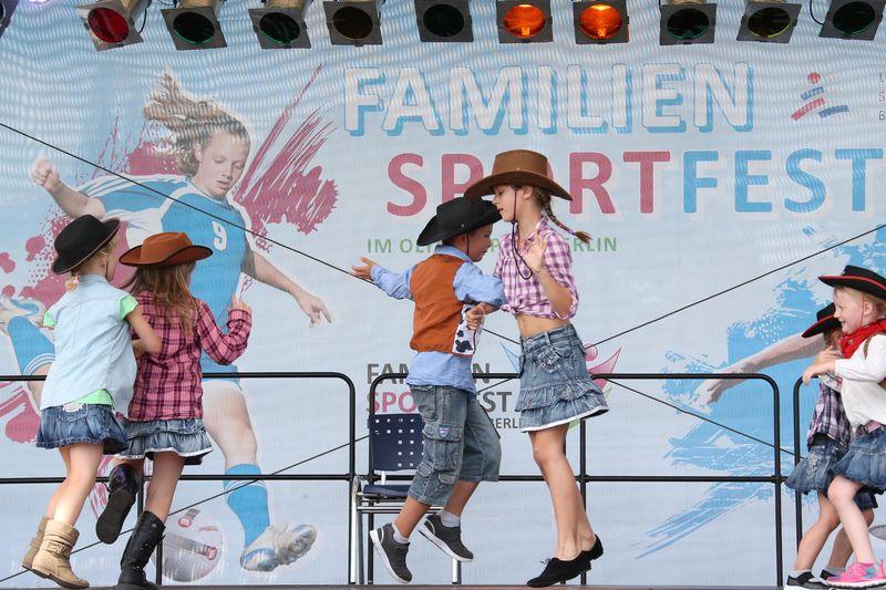 Familiensportfest im Olympiapark Berlin 2017