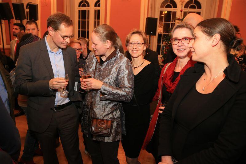 Empfang für Ehrenamtliche im Berliner Rathaus