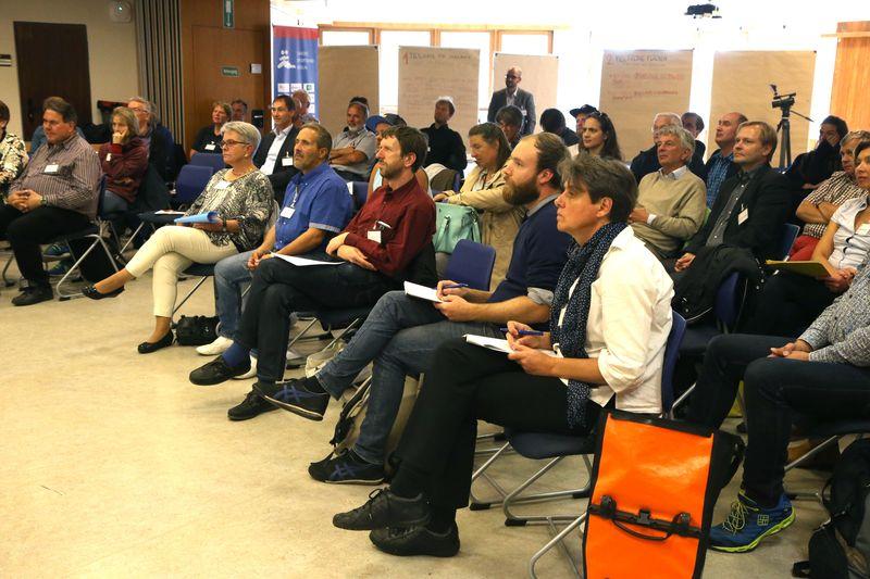 """40 Vereins- und Verbandsvertreter diskutierten zum Thema """"Bewegungsräume in einer wachsenden Stadt"""""""