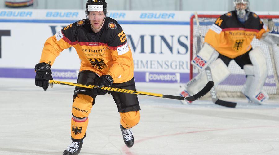 Eishockeyländerspiel Deutschland – Frankreich