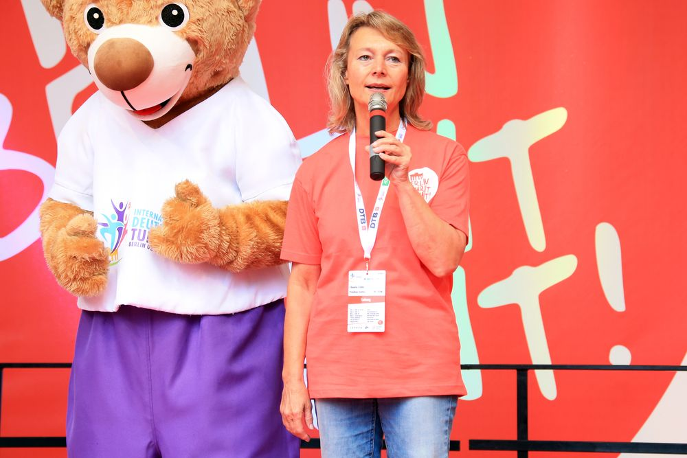 LSB-Vizepräsidentin Claudia Zinke