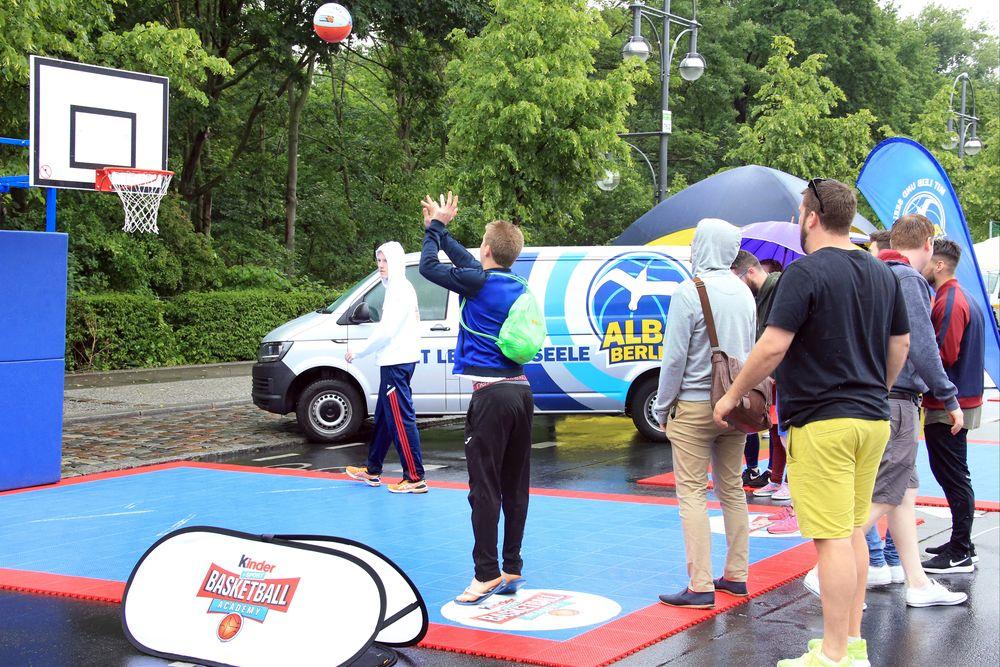 """Streetball bei """"Sportmetropole aktiv"""""""