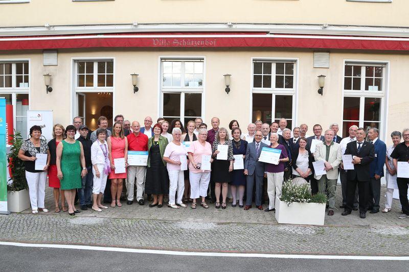 Ehrenamtsgala Gruppenbild 2017